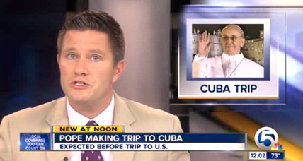 Pope Francis to visit Cuba en route to US, Vatican says
