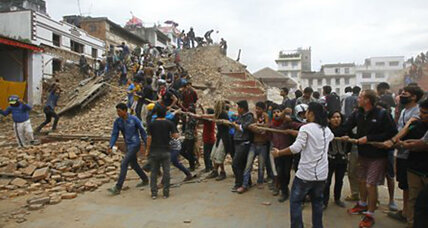 Devastating Nepal quake shakes four countries, killing more than 800