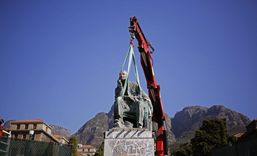 After Fall Of Statue South African University Weighs Colonial