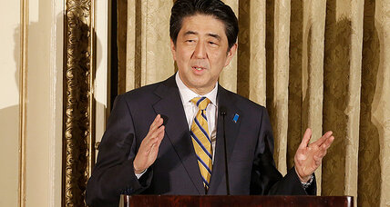 Japan's Abe: 'we would like to capture the dynamism of Silicon Valley'