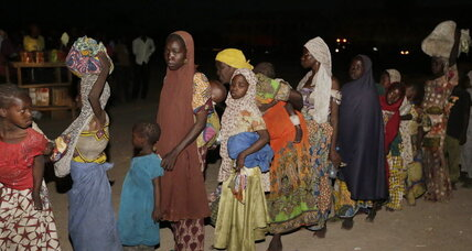 Freed Nigerian women describe horror of Boko Haram captivity