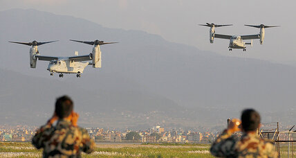 Nepal earthquake: how one US aircraft could make a big difference (+video)