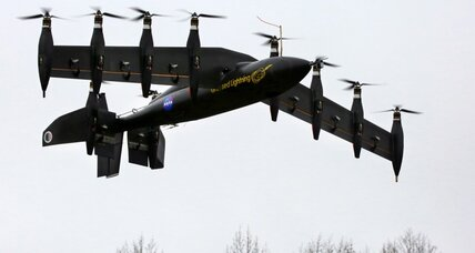 NASA drone takes off like a helicopter, flies like a plane (+video)