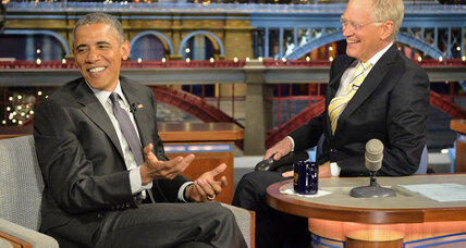 Obama to Letterman on retirement: 'We can go to Starbucks and swap stories' (+video)