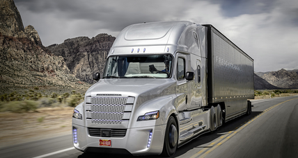 Are you ready to share the road with a self-piloting big rig? (+video)