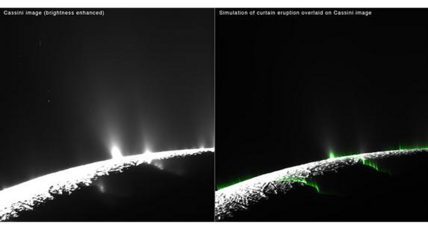 Are those geysers on Saturn's moon an illusion?