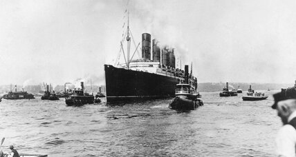 From the Monitor Archives: RMS Lusitania sunk by German U-boat