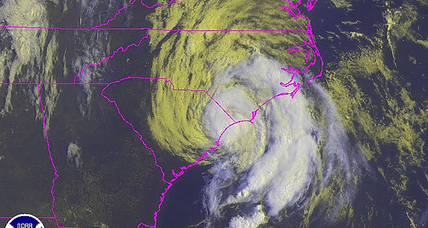 Tropical Storm Ana weakens as it strikes South Carolina