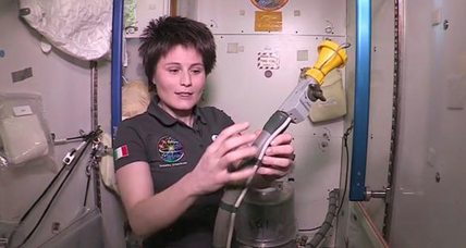 Italian astronaut answers everyone's first question about spaceflight