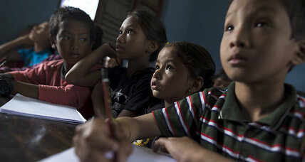 For Nepal's kids, earthquakes break school rhythms (+video)
