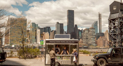 New York's eco-friendly food carts: The next generation of street vending?
