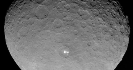 What are those bright spots on Ceres? NASA space probe gets closer look.