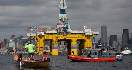 Seattle, like it or not, becomes Shell's Arctic base (+video)