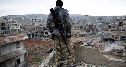 In Kobane, site of key defeat of Islamic State, rebuilding is a Kurdish affair