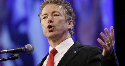 Alone in GOP field, Rand Paul vows to end Patriot Act