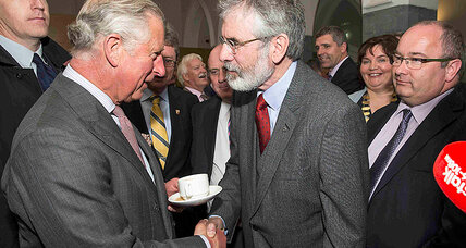 Prince Charles meets Gerry Adams: Sign of reconciliation between Britain and Sinn Fein? (+video)