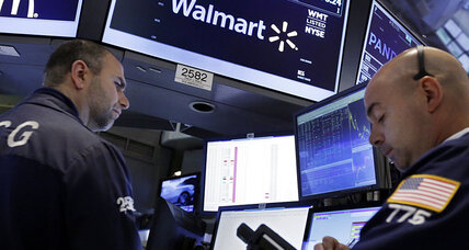 Why are Wal-Mart's profits falling?