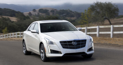 Cadillac CTS: Smooth ride, but smaller than Hyundai Genesis