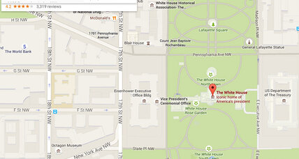 Why does entering racist slurs into Google Maps return the White House?