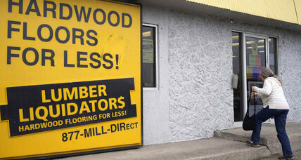 Lumber Liquidators CEO Robert Lynch resigns