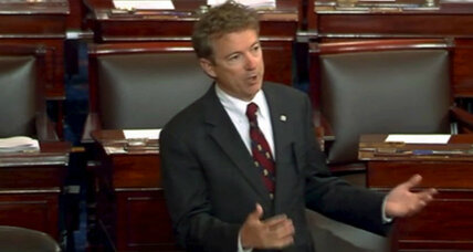 Does Rand Paul's 10-hour talk-a-thon count as a filibuster? Sure does.
