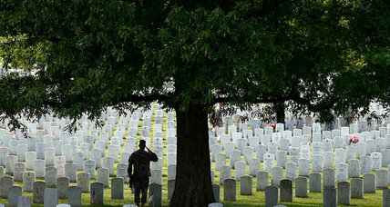 Thousands of flags to fill Arlington National Cemetery for Memorial Day