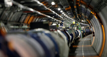 13 trillion electronvolts! Large Hadron Collider sets new record.