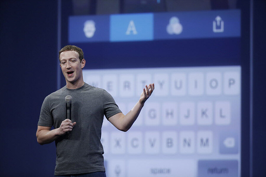 Mark Zuckerberg: Kids playing video games can lead to