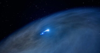 'Nasty' star born of cosmic cannibalism