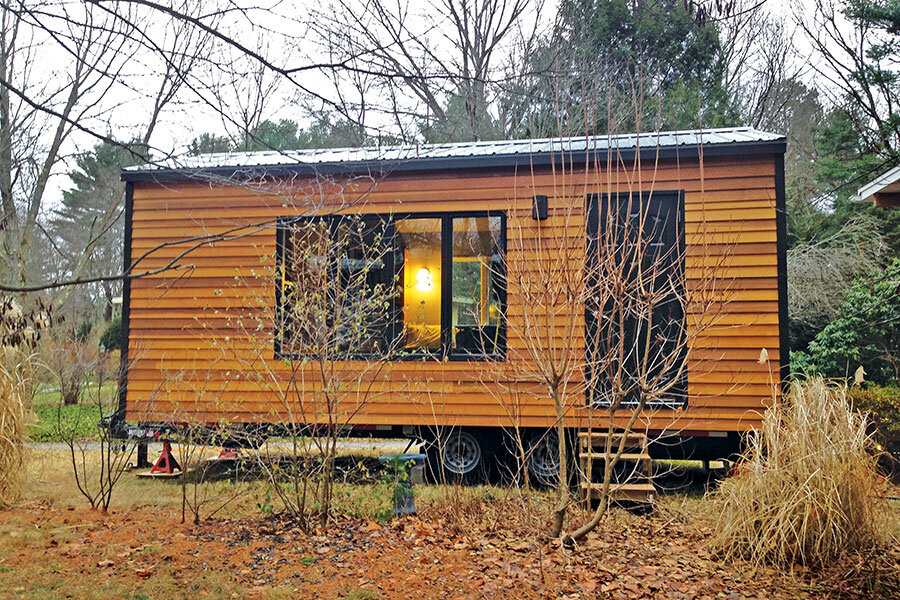tiny house owners search for an urban roost
