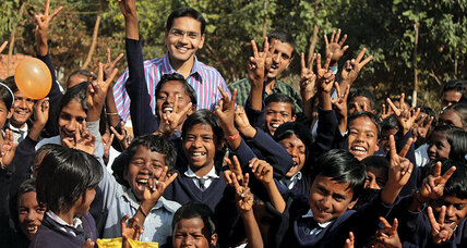 Shadab Hassan turned down a corporate career to start a village school