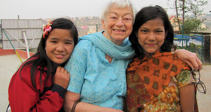 Olga Murray in Nepal: shaken but undeterred