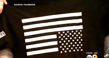 PacSun's flag T-shirt: Patriotism turned on its head