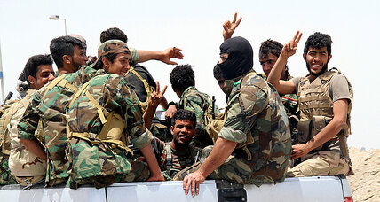 Does Iraq's military have the 'will to fight?' Its sectarian militias certainly do. (+video)