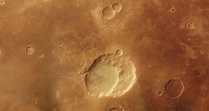 Did Mars once have supervolcanoes?