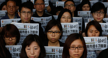 Hong Kong paper loses four top voices: A pro-China 'putsch'?