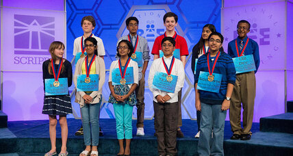 Ten finalists to compete for national spelling bee title