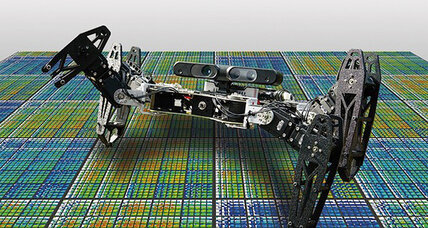 'Healing' robot could keep chasing you even after you break its legs