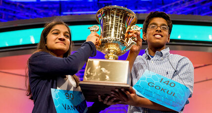 Scripps National Spelling Bee crowns co-champions again