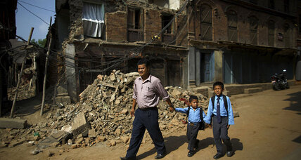 Five weeks after big quake, Nepal's schools reopen