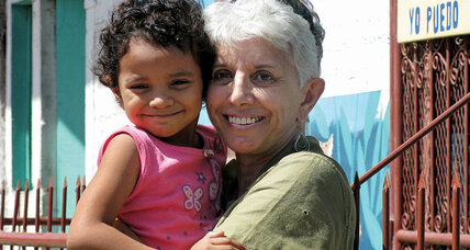 Donna Tabor is a one-woman charity in Nicaragua
