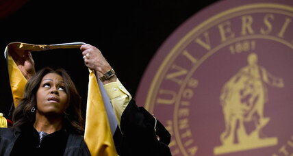 Michelle Obama Tuskegee University speech: What did she say about racism? (+video)