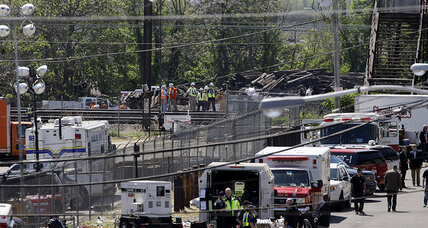 Eighth victim recovered from Philadelphia train crash wreckage