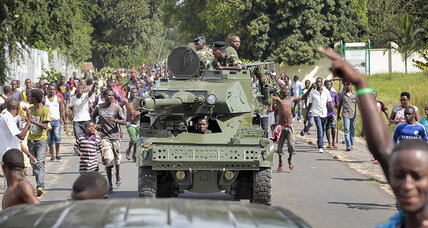 Burundi coup: Fighting in capital as president's forces push back