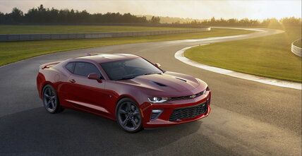 Chevrolet Camaro downsizes to improve driving experience