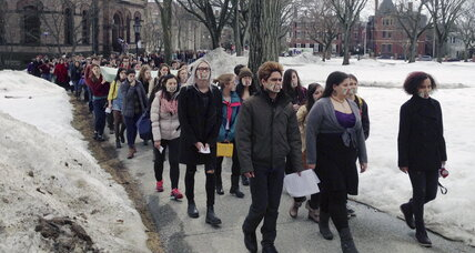 Glimmers of progress in fight against college sex assault (+video)