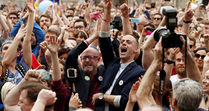 Ireland backs gay marriage in historic vote