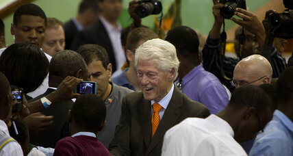 Bill Clinton defends family foundation fund raising