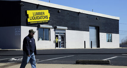 Lumber Liquidators to suspend sales of Chinese flooring (+video)