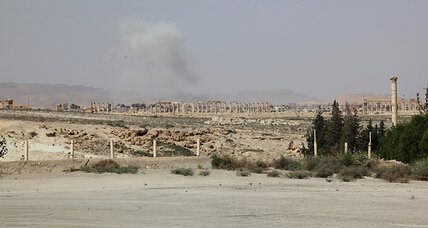 Islamic State in control of Palmyra ruins, according to activists